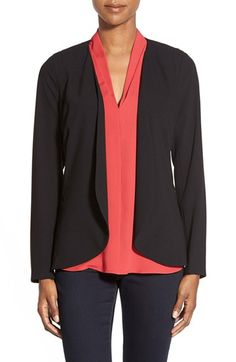 NYDJDrape Front Jacket available at #Nordstrom