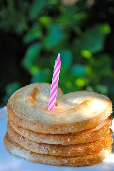 The perfect birthday cake! Petite Palmiers Cake