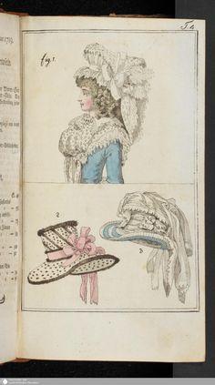 Journal des Luxus und der Moden: Februar, 1789.