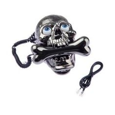 "Check out ""Cool Wired Skull Skeleton Cored Telephone Family Phone"" Decalz @Lockerz"