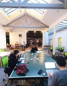Coworking Space - Mutinerie, Paris, France                                                                                                                                                                                 More