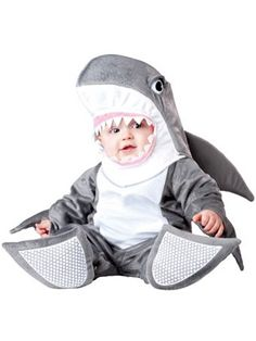 Halloween shark costume
