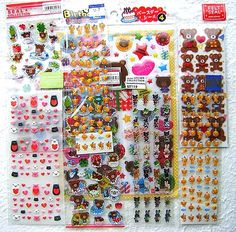 Cute  Sticker  Set 6  Different Sets Animals by FromJapanWithLove, $8.00