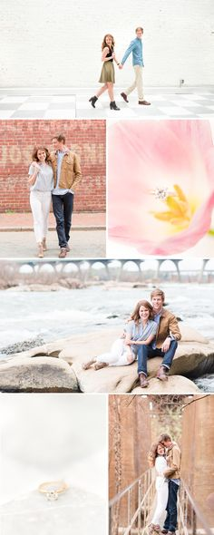 A Richmond Quirk Hotel and Pipeline Engagement Session by Katelyn James Photography