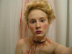 Marie Antoinette makeup