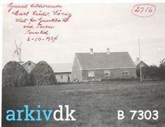 arkiv.dk   Gård vest for Gårdbo Sø ved Tuen, Tversted.