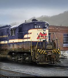 RailPictures.Net Photo: LN 514 Louisville & Nashville EMD GP7 at Loyall, Kentucky by Ron Flanary