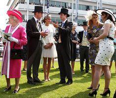 Epsom Derby Royal family fashion