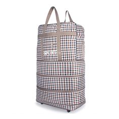 Portable Luggage Duffel Bag Gift Box Weed Pattern Travel Bags Carry-on In Trolley Handle