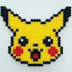 Pikachu hama beads by moxifoxy