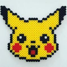 Pikachu hama beads by moxifoxy