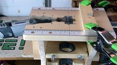 Mini - Table Saw / Router / Shaper for Dremel rotary tool. 	 Now that the Dremel contest voting is over I guess it's ok to update this instructable. He...