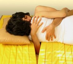 Designed by Mehdi Mojtabvi of the Tehran firm Gooyadesign, the 'Love Mattress' is made of rubberized foam slats with folds that can flex open to accommodate fingers, hands, arms and feet, making it possible to wrap your arms around someone without loosing the circulation and feeling in your arm. For those who wish to cuddle like a pair of mating snails all night, this mattress is it, whilst still permitting a good night's sleep. So now there is in fact a good enough reason to buy a mattress…