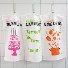 Kitchen Towels - My favourite kit, Renée Voltaire Webbshop