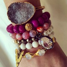 gemstone arm party
