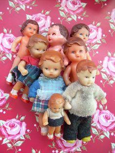 group of Ari dolls