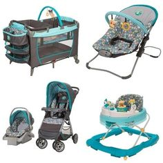 5 pc winnie pooh set newborn infant playard stroller car seat walker from Baby Boy Car Seats, Car Seat And Stroller, Baby Play Yard, Cute Baby Names, Newborn Baby Dolls, Baby Alive, Baby Disney, Baby Accessories, Baby Strollers