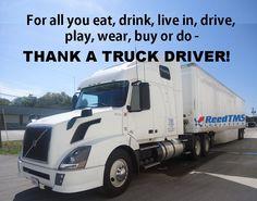 True Story :) Thanks truck drivers!