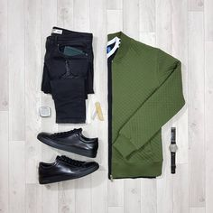 """1,621 Likes, 6 Comments - Stylish Grid Game (@stylishgridgame) on Instagram: """"Green and Black in this Stylish Grid  Follow  @stylishgridgame   www.StylishGridGame.com …"""""""