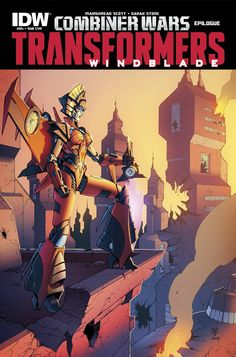 Transformers: Windblade Combiner Wars (2015) Issue #4