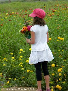 "Marble Falls, Texas  ""Flower Picking"""