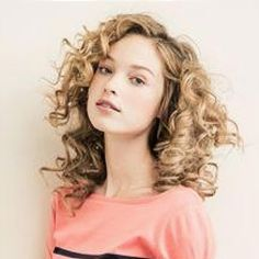 Curly hair glory