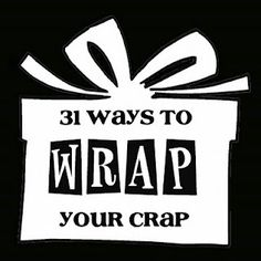 Interesting gift wrap