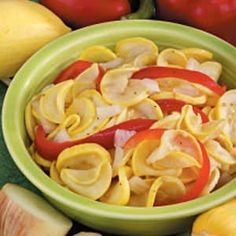 Sweet Squash Pickles Recipe