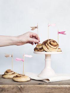 Cinnamon buns / cinnamon rolls / kanelsnegle - Copenhagen Cakes