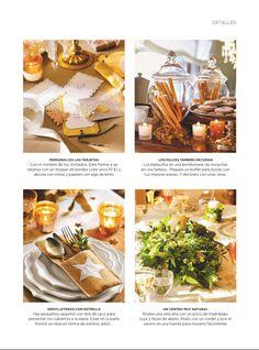 Funda de cubiertos de tela de saco con estrella de SweetCo. Publicado en El Mueble de diciembre 2014.