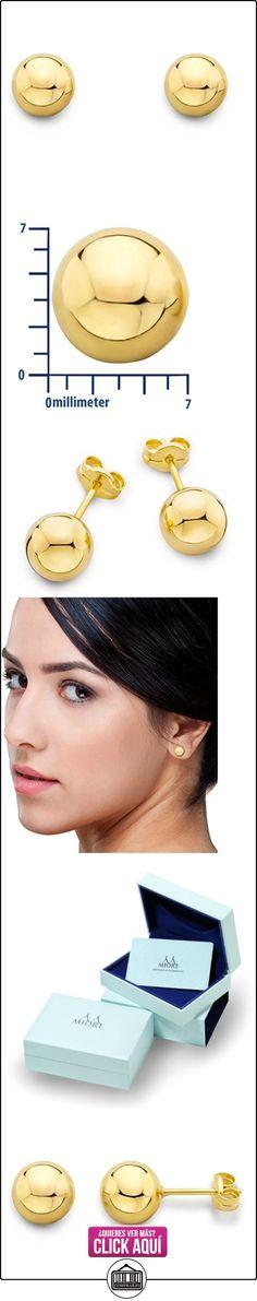 Miore - Pendientes de oro amarillo  ✿ Joyas para mujer - Las mejores ofertas ✿ ▬► Ver oferta: https://comprar.io/goto/B011GY3NYS