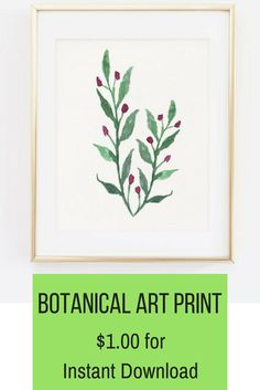 When it comes to my own apartment, I'm a sucker for anything plant or plant-related. Like these botanical art prints. //affiliate//