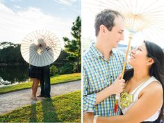 Engagement session at the Morikami Museum and Gardens in Delray Beach by hannahmayophotography.com