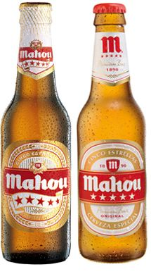 Mahou sharing a good beer on a Friday night. Spanish Food, Spanish Meals, Whisky, Mexican Beer, Beers Of The World, Beer Brands, Brew Pub, Looks Yummy, Beer Label