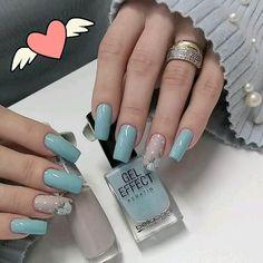 Almond Acrylic Nails, Best Acrylic Nails, Acrylic Nail Designs, Summer Acrylic Nails, Stylish Nails, Trendy Nails, Violet Pastel, Halloween Acrylic Nails, Unicorn Nails