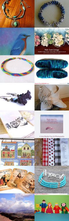 TUESDAY WINDOW SHOPPING by Suzanne and Tony Hughes on Etsy--Pinned with TreasuryPin.com #summerfinds