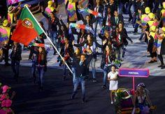 Rio2016: 34 atletas representaram Portugal no desfile da Cerimónia de Abertura