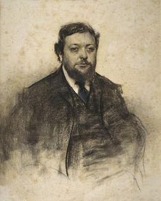 Portrait Of Leon Jaussely  Ramon Casas