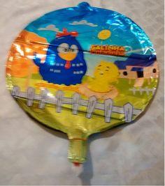 Balão Galinha Pintadinha Redondo
