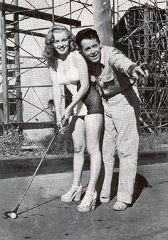 Henry Fonda & Marilyn Monroe