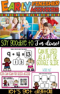 MAKE A TEN to SOLVE If your kiddos need some extra practice with addition sentences where they can pull out a 1 from a number to make the nine a ten - and then solve - this product might be perfect for you!