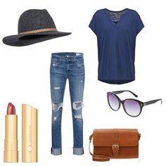 OneOutfitPerDay 2016-06-11 - #ootd #outfit #fashion #oneoutfitperday #fashionblogger #fashionbloggerde #frauenoutfit #herbstoutfit - Frauen Outfit Outfit des Tages Sommer Outfit bareMinerals Calvin Klein Destroyed Akzent Hut Jeans Marc O'Polo mint&berry ONLY rag&bone Sonnenbrille Wollhut
