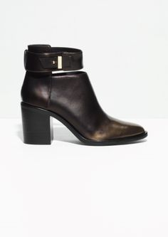 & Other Stories   Ankle Strap Boots
