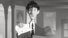 'Paperman' by Disney (shown before Wreck-It Ralph) // absolutely adorable!