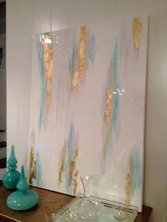 Abstract Art  mixed medium by AmeeCallowayArt on Etsy, $400.00