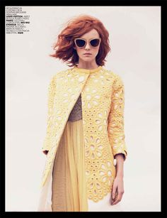 Heather Marks for Marie Claire Italia