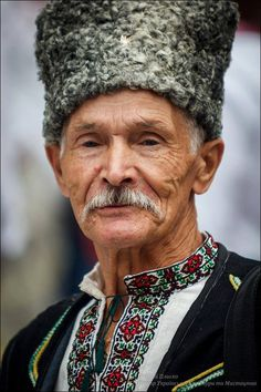 Old kozak, Ukraine, from Iryna