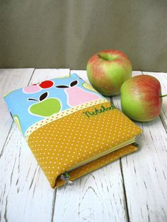 Notebook Summer Fruit Hand Made Journal by DizzyStuffShop on Etsy