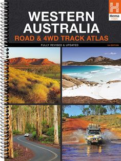 Western Australia Road & Track Road Atlas Edition) by Hema Maps Pdf Book, Big Country, Country Roads, West Australia, Westerns, Camping Books, Books Everyone Should Read, Australia Travel Guide, Reading