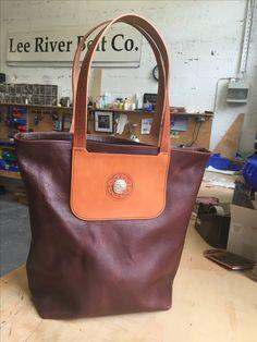 Longchamp, River, Tote Bag, Leather, Handmade, Bags, Fashion, Handbags, Moda